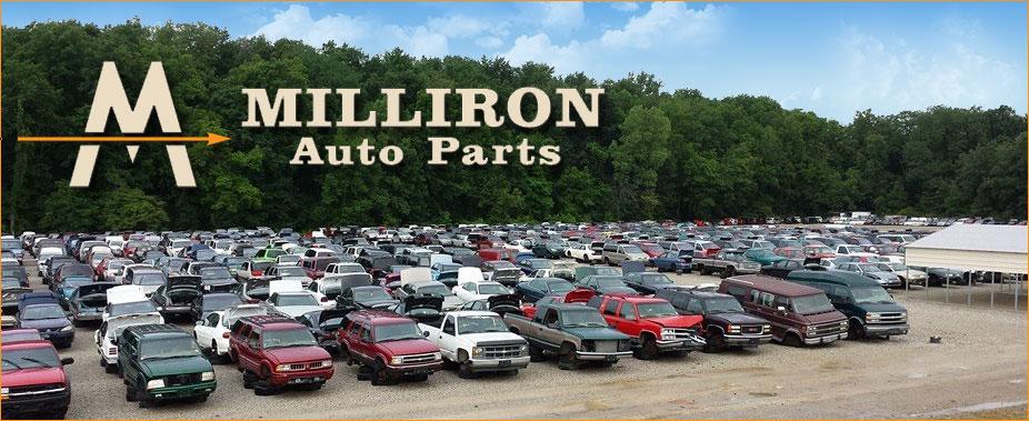 Pull A Part Cleveland Ohio >> Milliron Auto Parts